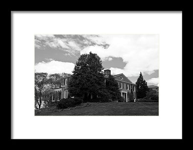 House On The Hill - Framed Print
