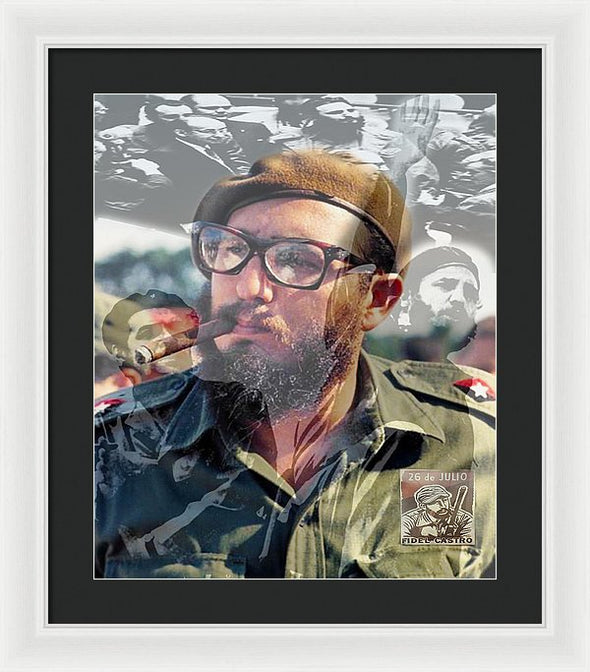 Loved Fidel - Framed Print