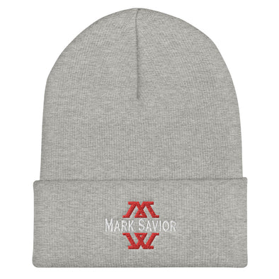 MARK SAVIOR ICONIC LOGO CUFFED BEANIE