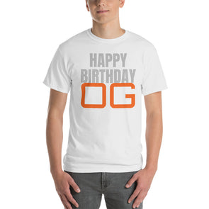 Happy Birthday Customisable T-Shirt
