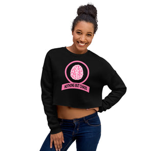 Pinky Ring Crop Sweatshirt