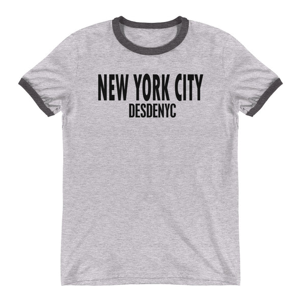 Desdenyc New York City Ringer T-Shirt