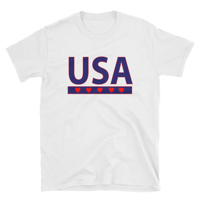 USA Text  Unisex T-Shirt