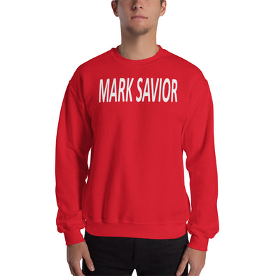 Mark Savior Red Sweatshirt