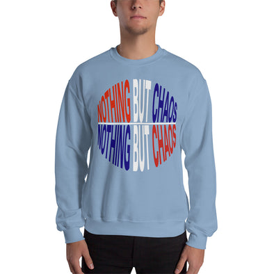Nothing But Chaos Text Logo Sweatshirt
