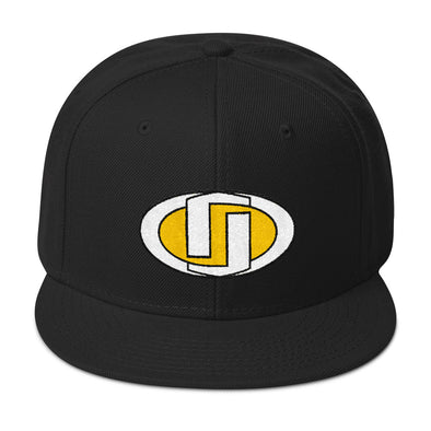 Desdenyc Yellow & White Snapback Hat