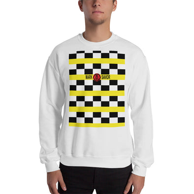 Mark Savior Checkered Logo Sweatshirt