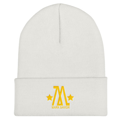 Mark Savior Gold Star Cuffed Beanie