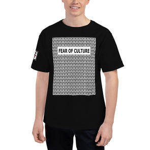 Fear Of Culture FF Logo x Champion T-Shirt