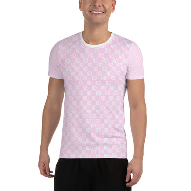 RD All-Over Pink Athletic T-Shirt