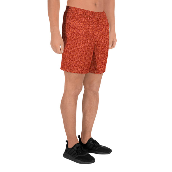 Men's long shorts with all-over print