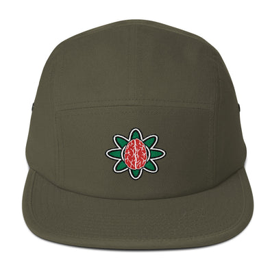 Pretty Brain Five Panel Cap