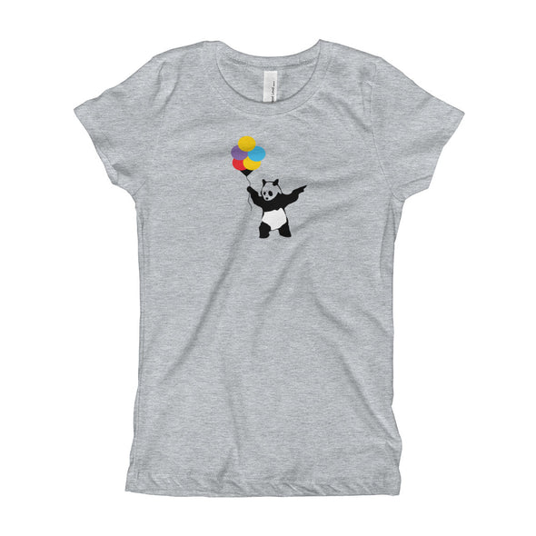 Balloon panda Girl's T-Shirt