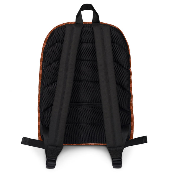 RD Brown and Gold Backpack | Nothing But Chaos