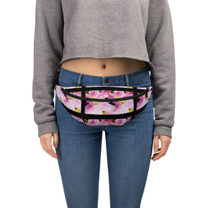 Mark Savior Flower Print Fanny Pack