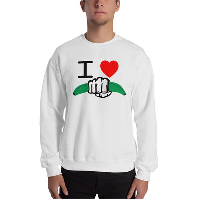 I Love Dominican Power Sweatshirt - Desdenyc