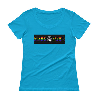 Mark Savior Pride Ladies' Scoopneck T-Shirt