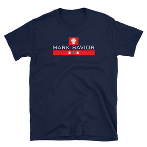 Mark Savior Blue T-Shirt