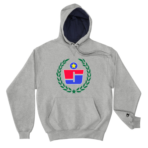 RJ Wreath Badge x Champion Hoodie