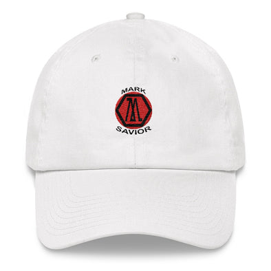 Mark Savior Flat Logo Dad hat