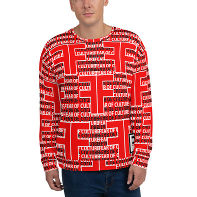 Fear of Culture Red Candy Sweatshirt