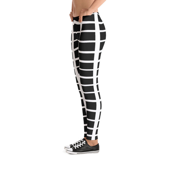 Nothing But Chaos Black Stripe Leggings