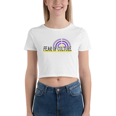 FEAR OF CULTURE | Women's Crop Tee