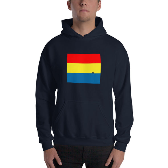 Nothing But Chaos | Unisex Tri-Color Hooded Sweatshirt