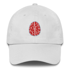 Red Brain Cotton Cap