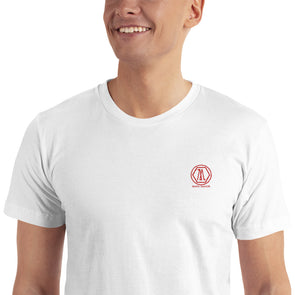 Mark Savior Classic Embroidered T-Shirt