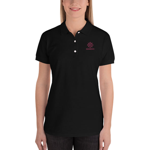 Embroidered Women's Polo Shirt | Desdenyc