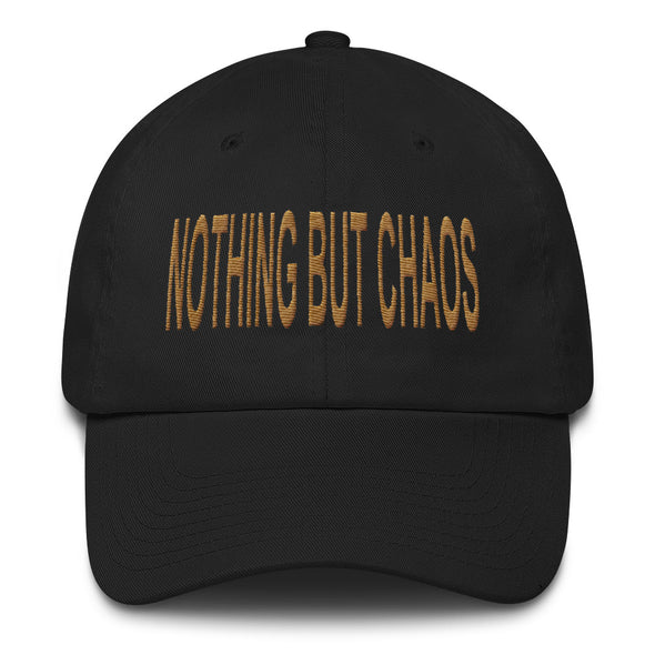 Dad Hat Gold Text | Nothing But Chaos