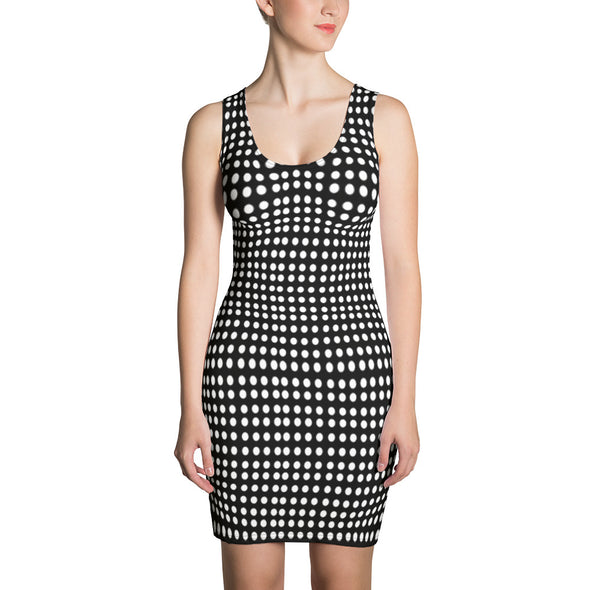 Mark Savior French Dots Dress