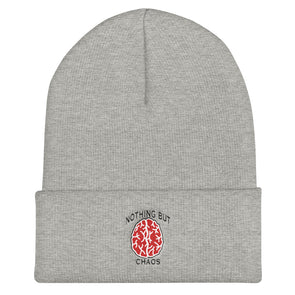 Nothing But Chaos Brain Logo Cuffed Beanie