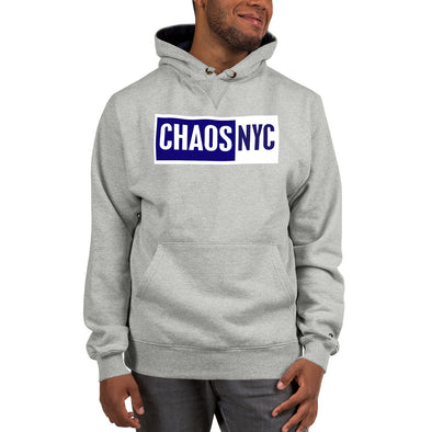 Chaos Box Text Logo Champion Hoodie