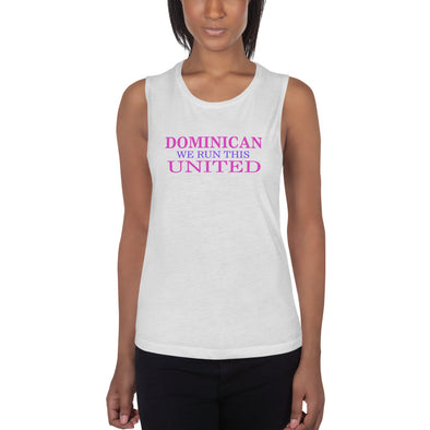 Dominican United Ladies' Muscle Tank