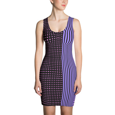 Mark Savior Cross Striped  Dress