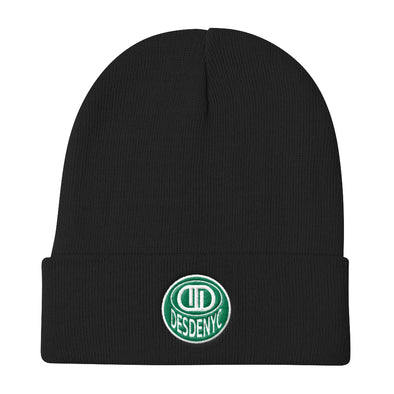 Desdenyc Boston Green Knit Beanie