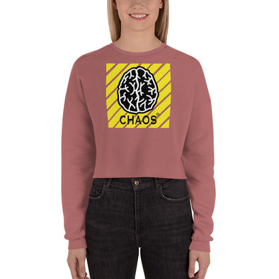 Chaos Crop Sweatshirt