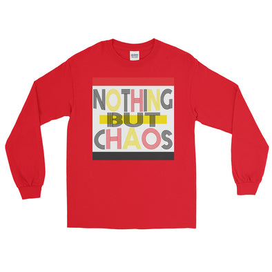 Nothing But Chaos Colors -Long Sleeve T-Shirt