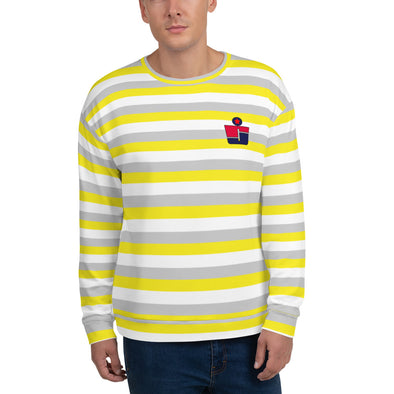 RJ Striped Sweatshirt