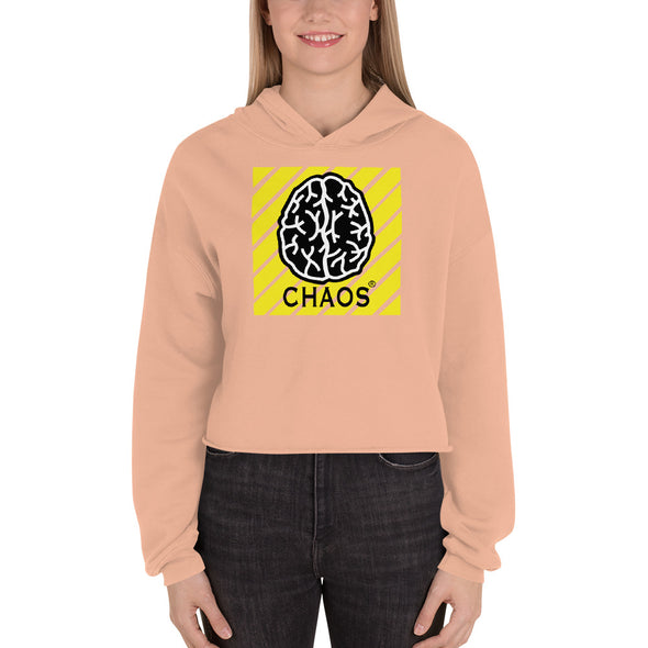 Chaos Sexy Crop Hoodie