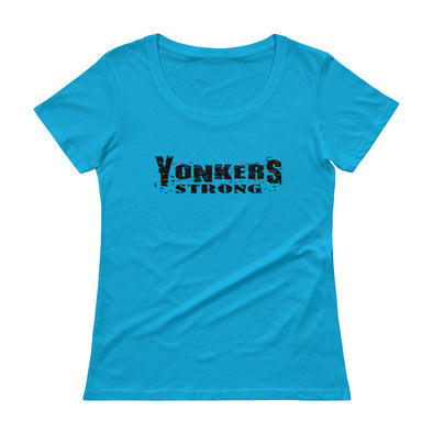 Yonkers Strong Ladies' Scoopneck T-Shirt