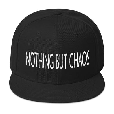 Nothing But Chaos Snapback Hat