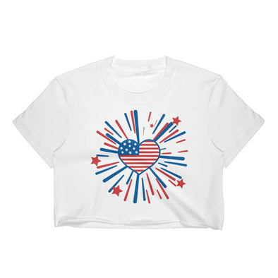 July 4th Women's Crop Top
