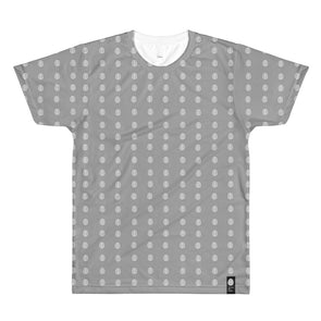 NOTHING BUT CHAOS grey All-Over Printed T-Shirt
