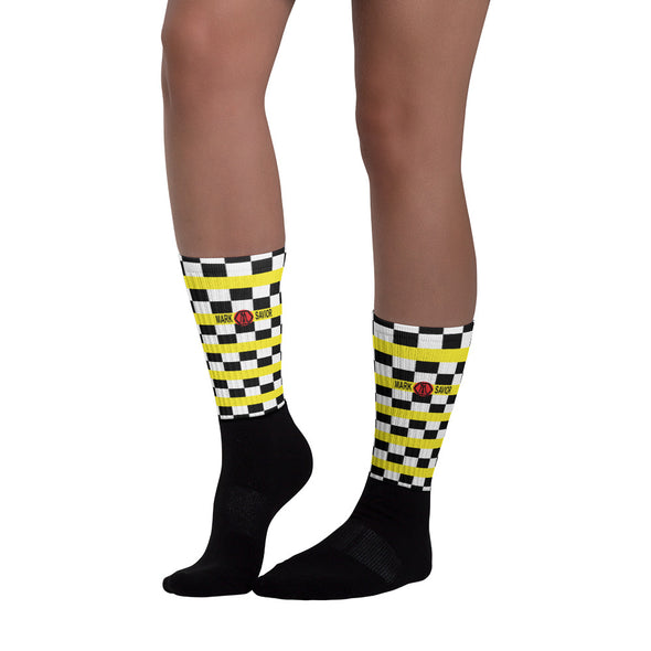 Mark Savior Checkered Socks