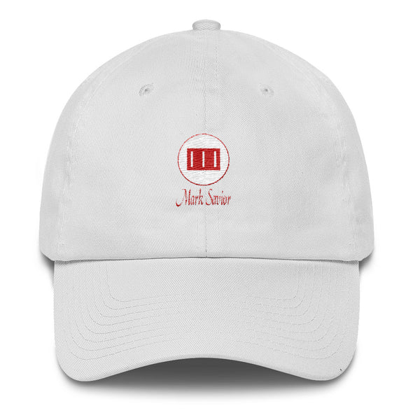 Mark Savior Embroidered Cotton Cap