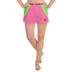 Mark Savior  Women's Vibes Athletic Short Shorts