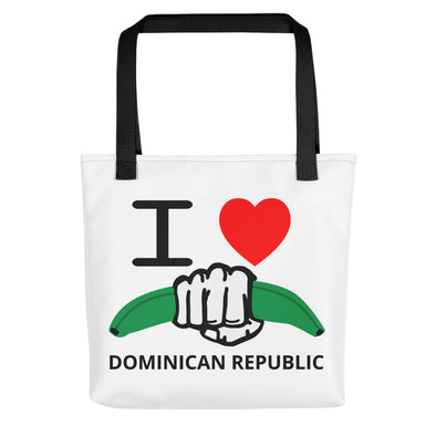I Love Dominican Republic Tote bag - Desdenyc